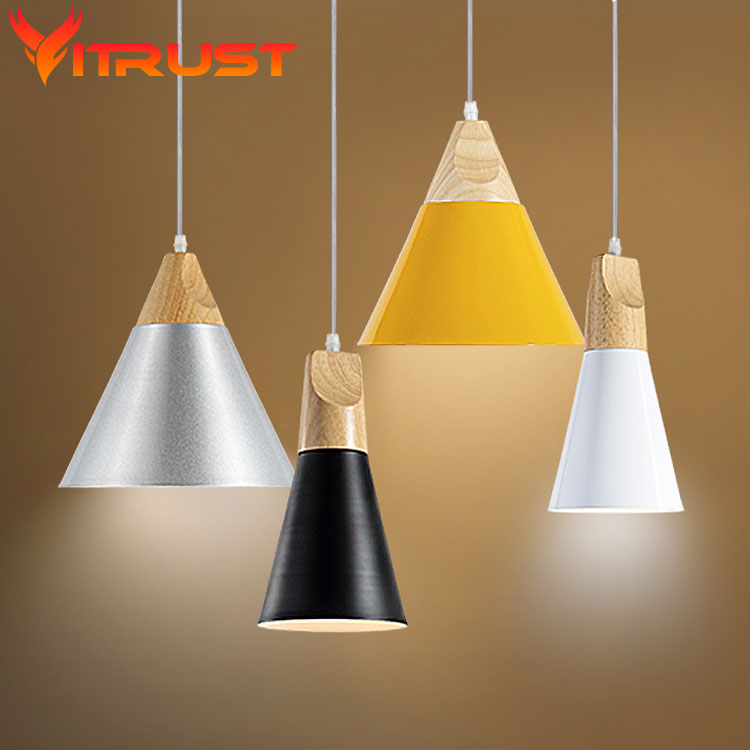 Round pendant light nordic creative personality art deco suspension lamp dining room bedroom - Creative hanging lights ...