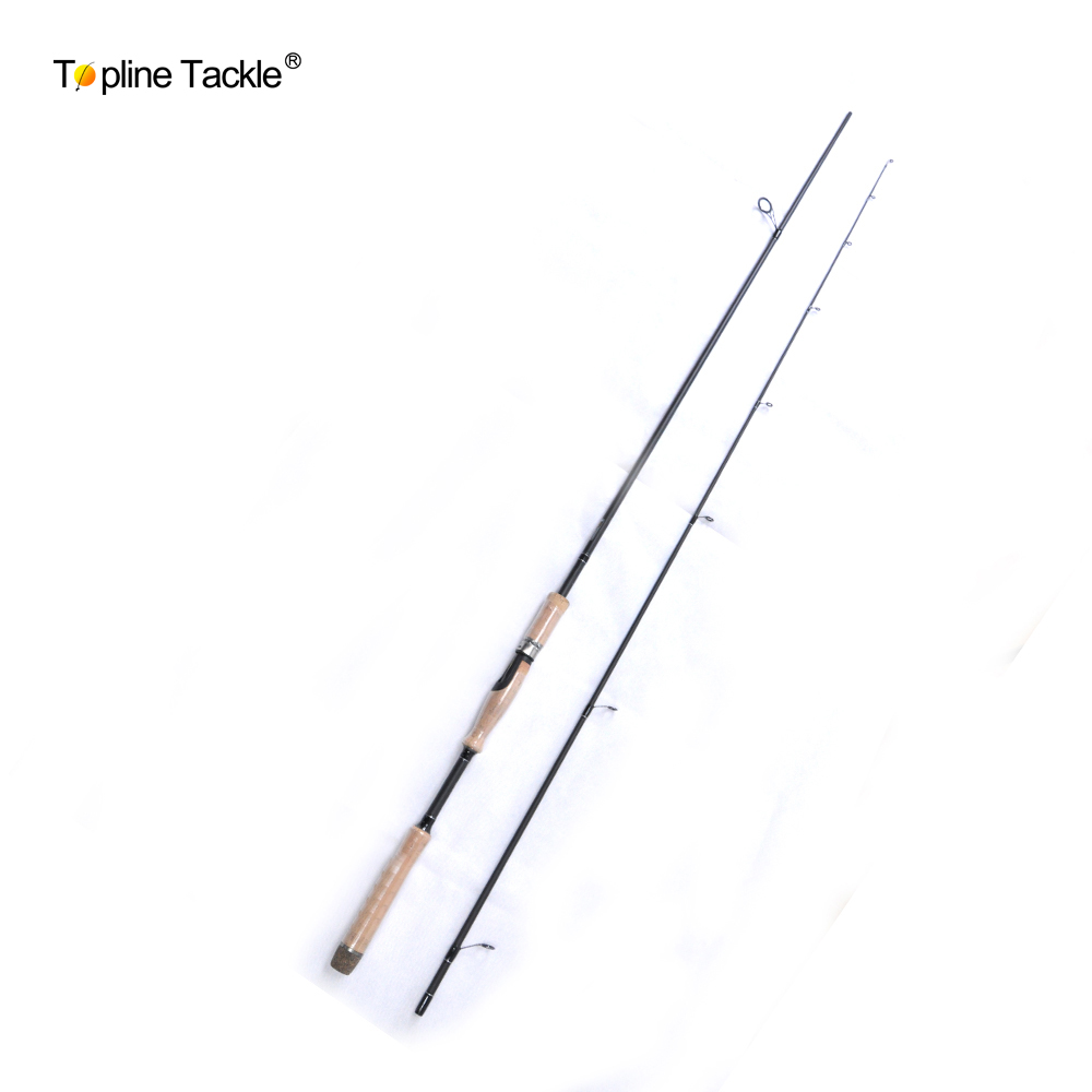 Topline Tackle 2 Segments fishing rod M Power line wt.6-15lb lure wt.1/8-3/4oz Carbon Spinning Casting Lure Fishing Rod free shipping 5 6 4 segments sections fly fishing rod full metal reel water proof rod bag lines box lure set kit