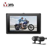 VSYS M1 WiFi Dual Camera Motorcycle Camera Recorder DVR With Front Full HD 1080P Rear View