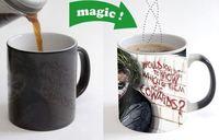 Joker Quote Cool Morphing Coffee Mugs Transforming Mug Heat Sensitive Tea Cups Photo Cup Batman Harley