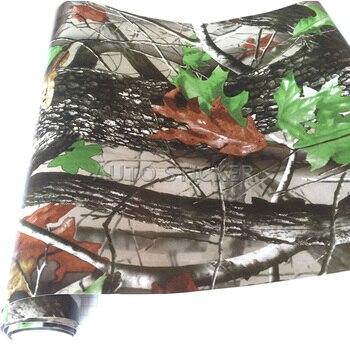 10/20/30/40/50X152CM Matte Camo Vinyl Wraps Sheets in Realtree