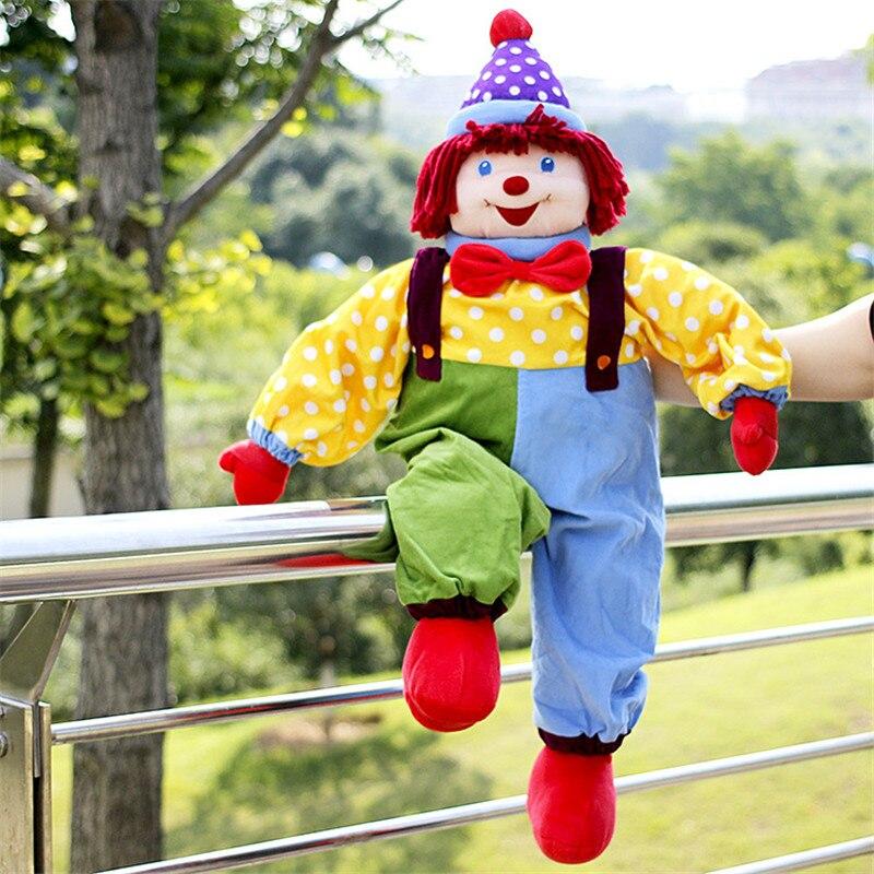 Doub K 85 cm cirque clown poupées en peluche jouets pour enfants apaiser poupée saint valentin cadeaux sommeil oreiller scène performance accessoires-in Animaux en peluche from Jeux et loisirs    2