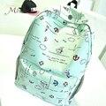 Korean style cute graffiti anime zipper school canvas bags teen girls large backpack notebook travel red mochilas women female