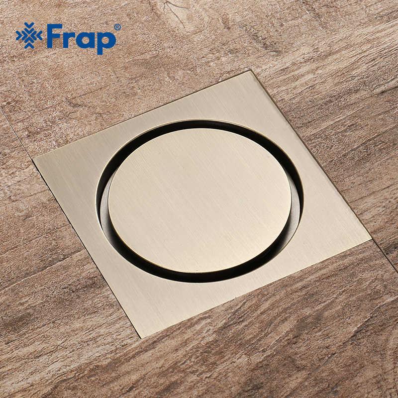 Frap nowy odpływy podłogowe prysznic odpływy podłogowe płytki wkładka kanał spustowy do łazienki kuchnia odpadów ruszt Fltro Ducha spustowy Y38082