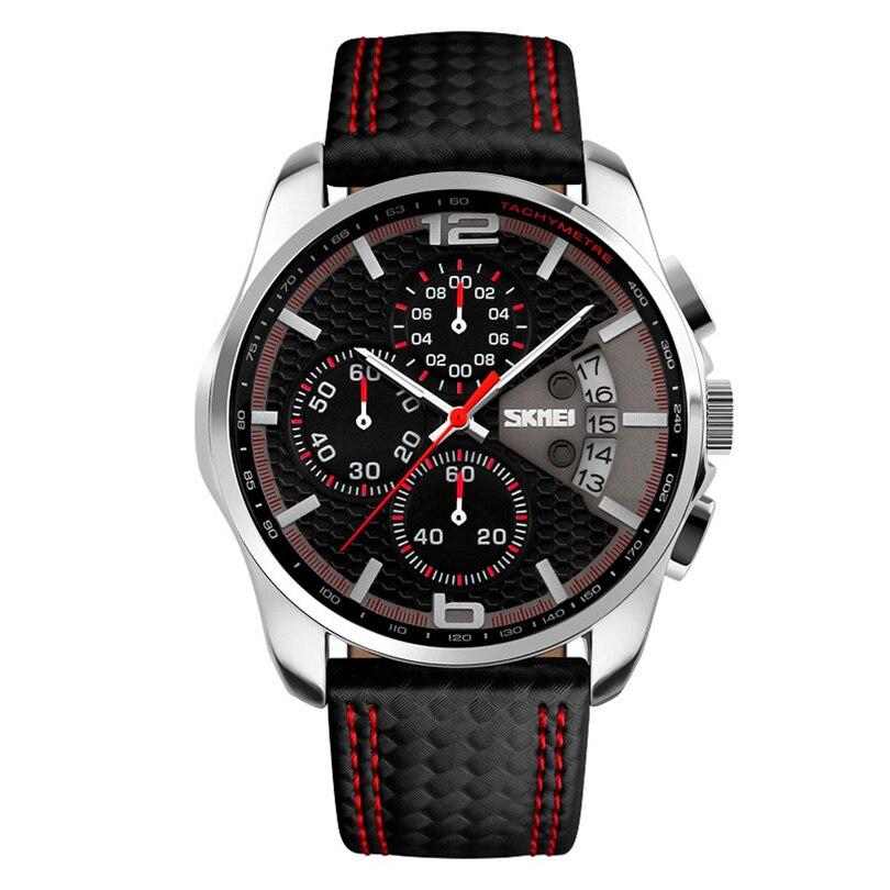 Топ Марка роскошные Кварцевые часы мужчины часы лаконичные наручные часы 50m Водонепроницаемый Повседневная мода шоу бизнес мужчины часы