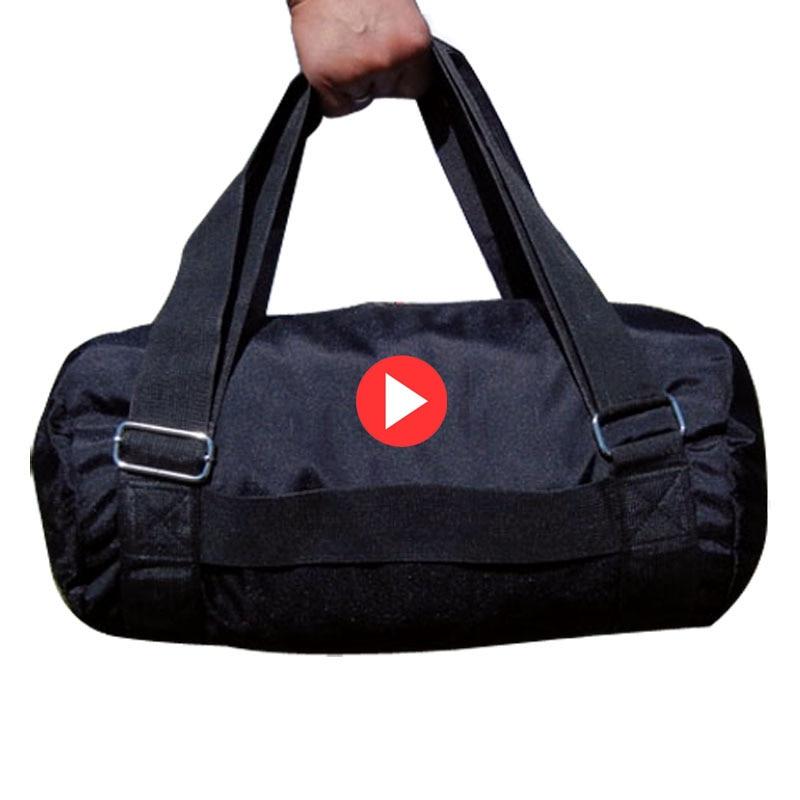 Black Lightweight Foldable Backpack Male Handbags Nylon Men Women Fitness Shoulder Sport Gym Bag Yoga Bag Large Capacity Luggage