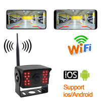 Auto Wireless Camera Car Wifi Reversing Rear View Vehicle Infrared Cameras For Truck RV Camper Bus Vans Caravan Android IOS