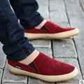 Venta caliente 2017 Nuevos Zapatos de Los Hombres zapatos De Los Hombres Planos Ocasionales de Los Hombres Zapatos Cómodos Zapatos de Verano talla 39-44