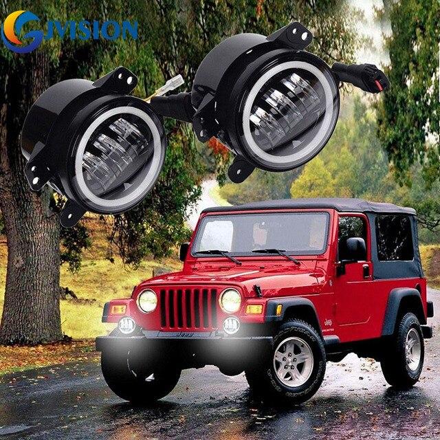 Para Jeep Wrangler Jk Dodge Chrysler Pt Cruiser 30 W 4 Polegada