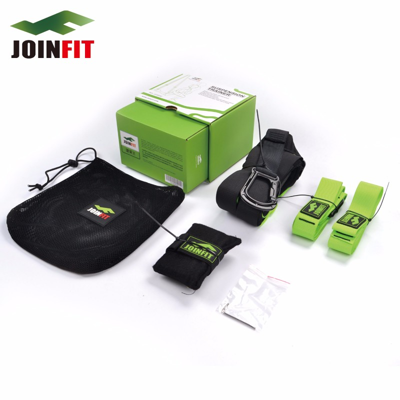 JOINFIT Nylon Professional Crossfit Suspension Straps Resistance Bands for Fitness Trainer Strength Training GYM Sets