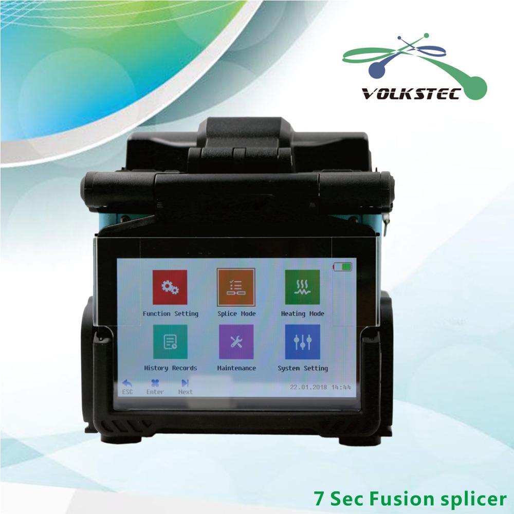 2018 nueva fibra empalmador de fusión Aitelong SAT-17T Empalme automático de la máquina