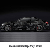 Camouflage Vinyl Wrap Film Auto Sticker Vinyls Film Camouflage Car Wrap for Car Wrapping matte glossy Various kinds any size