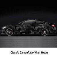 Camouflage Vinyl Wrap Film Auto Sticker Vinyls Film Camouflage Car Wrap for Car Wrapping matte glossy Various kinds any size