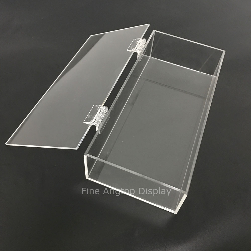 Clear Acrylic Jewelry Cosmetic Storage Display Box Necklace Bracelets Gift Boxes