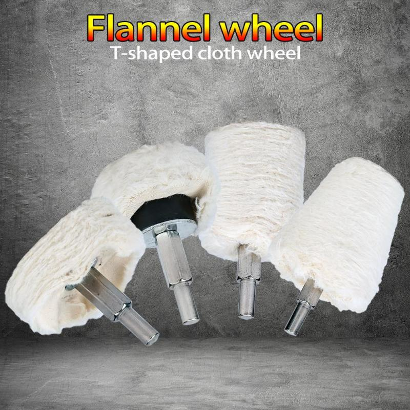 Cotton Cloth Polishing Mop Buffing Cloth Wheel Grinding Head Abrasive Tools
