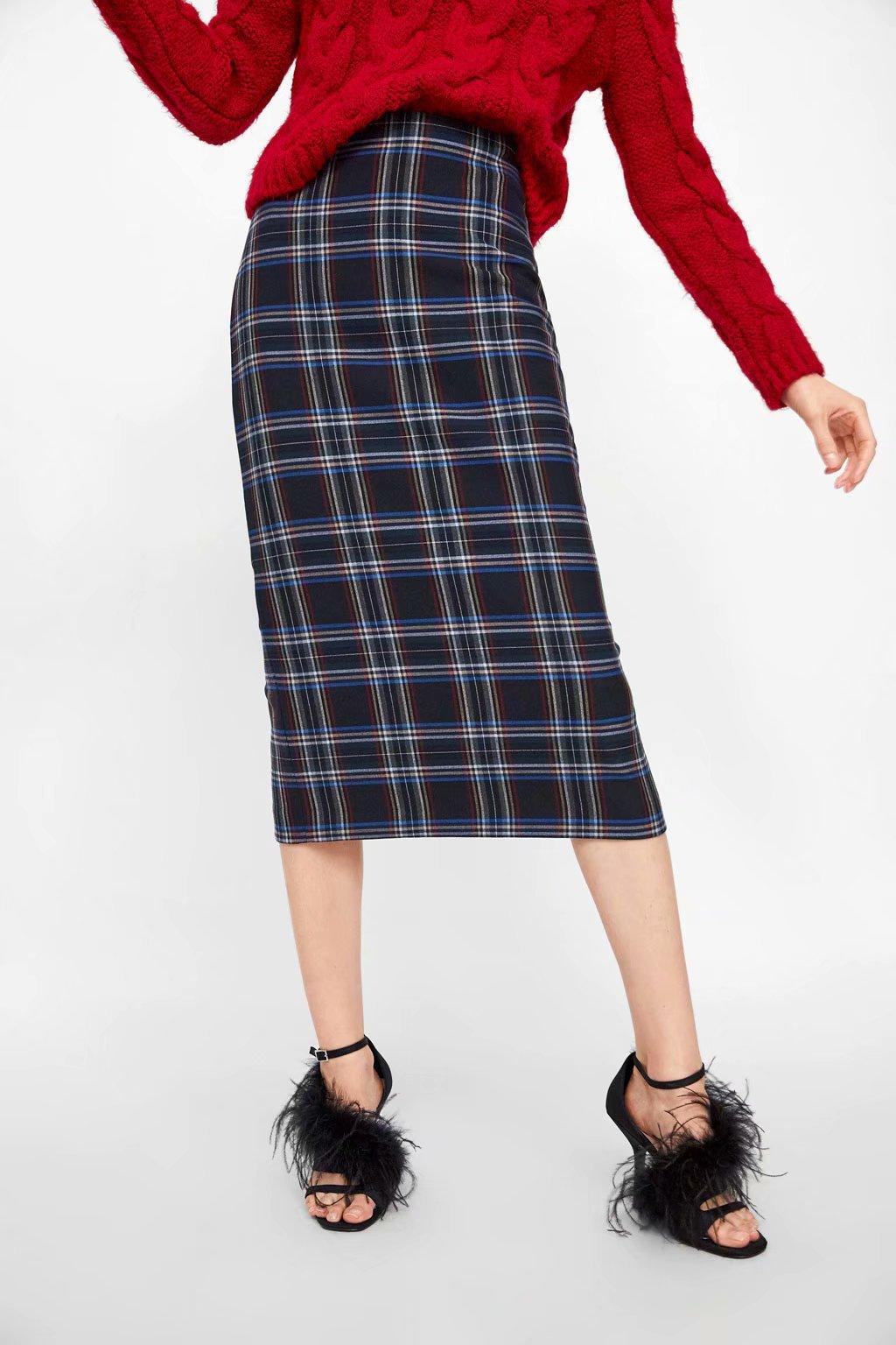 d4cfdcbe0 Faldas A Cuadros Mujer | Wig Elegance