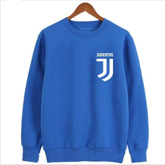 2017 Man Juventus print Sportswear Hoodies male Hip Hop Fleece Long Sleeve Hoodie Slim Fit Sweatshirt Hoodies for men Streetwear 4