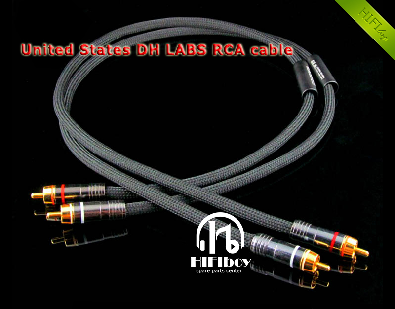 HI end cable hifi SLK RCA Cable United States DH LABS cable 1m 1.5m 2m DIY