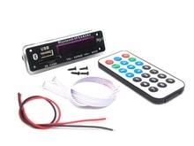 Bluetooth MP3 Декодирования Совета Модуль ж/Слот Для Карты SD/USB/FM/Дистанционного Декодирования Совета Модуль