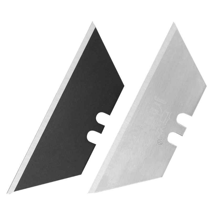 10Pcs Speciale Messen Staal Materiaal Mes Trapezium Blades Vervanging DIY Art Craft Cutter Tool