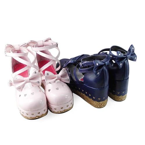 Princess sweet lolita gothic lolita shoes custom Antaina lolita princess shoes an9977