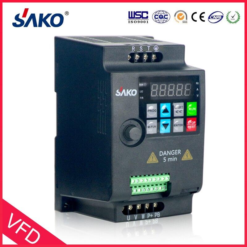 SAKO SKI780 380 V 0.75KW/1.5KW/2.2KW Mini de frecuencia Variable VFD inversor para Control de velocidad del Motor convertidor - 3
