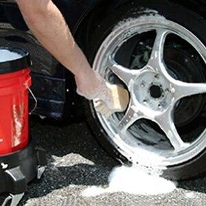 Image 5 - 2019 1Pcs Neue Auto Reifen Reinigung Pinsel Hard Haar Rad Waschen Wartung Werkzeug Innen Sauber Weiß Nylon Auto Detaillierung