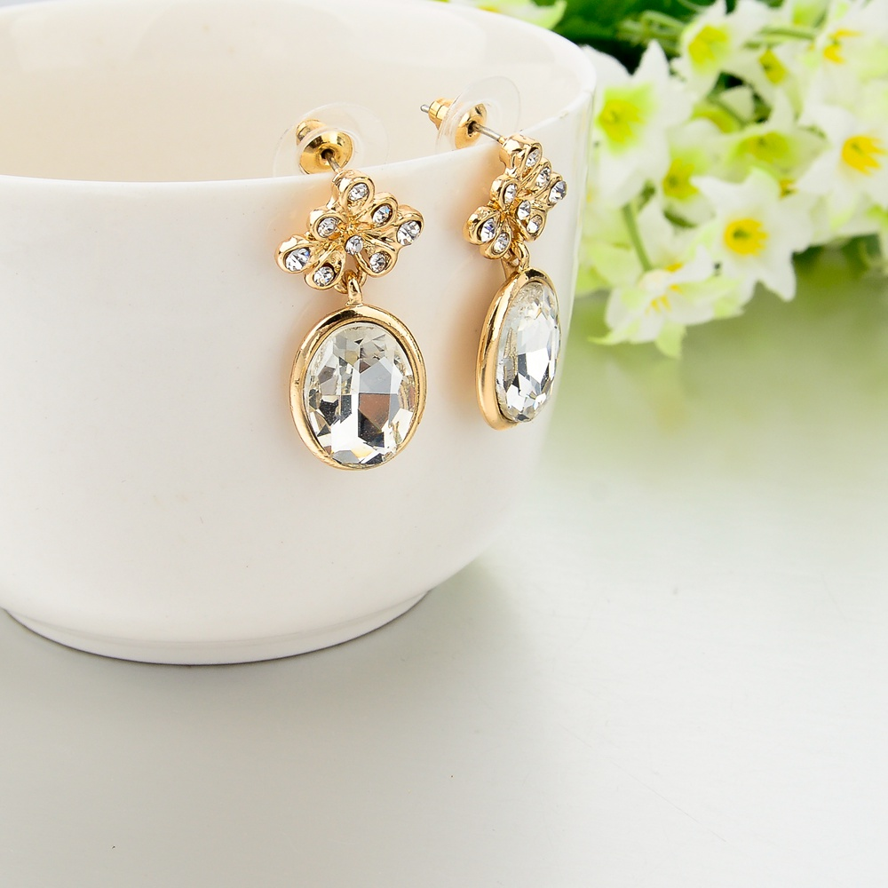 LongWay pendientes brinco cute girls fer crystal stud earrings ...