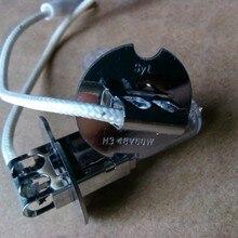 Тайвань высокое качество H3 48 V 60 W PK22S лампа для EIECTRIC вилочного погрузчика гольф-штабелеукладчик