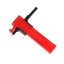 1 pc Plástico Rotativo Bússola Círculo Cortador De Papelão De Papel De Vinil De Borracha de Couro Art Craft Ferramenta 10mm-150mm
