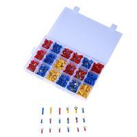 1200pcs Assorted Electrical Wiring Connectors Crimp Terminal Set Kits