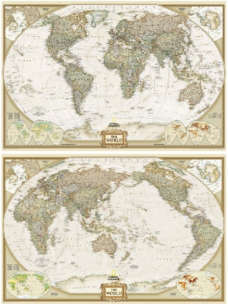 Obamas choice white house decorative map national geographic cotton canvas hemisphere world map national geographic magazine version wall hanging paintings for homeofficeclassroom decorusd 1339 3533piece gumiabroncs Images