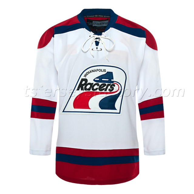 super popular 2bce1 91dbf US $70.0 | Indianapolis Racers 1978 WHA Vintage Throwback Hockey Jersey  Blank-in Hockey Jerseys from Sports & Entertainment on Aliexpress.com | ...