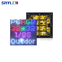 P6 outdoor led display panel 192*192mm Hub75 3IN1 RGB led display modules SMD3535