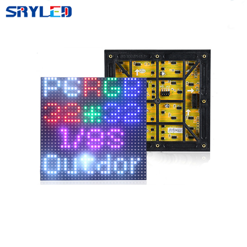 P6 outdoor led display panel 192*192mm Hub75 3IN1 RGB led display modules SMD3535 ...