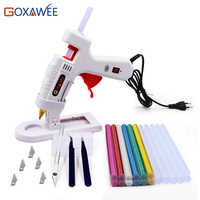 6 IN 1 Glue Gun Set Electric Heat Hot Melt Crafts Repair Tool Professional DIY Repair Tools with Sticks 20W 80W 105W