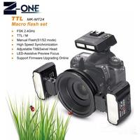 Майке MK MT24 Macro twin Lite вспышки для Nikon D3X D200 D300 D300S D700 D800 D810 D80 D90 D600 D610 D3100 d3200 цифровой зеркальной flash