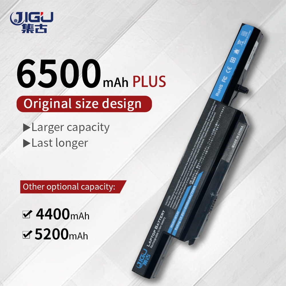 JIGU Laptop Battery W540BAT-6 FOR CLEVO W550SU1 W550SU2 W551SU1
