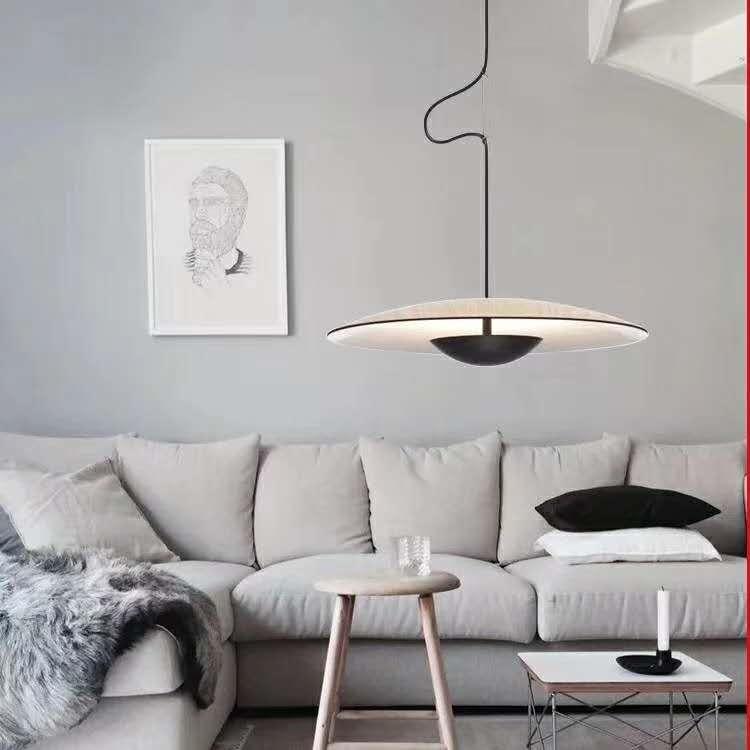 Nordique moderne style minimaliste espagnol UFO lustre salon salle à manger chevet bar chambre LED lustre AC220V