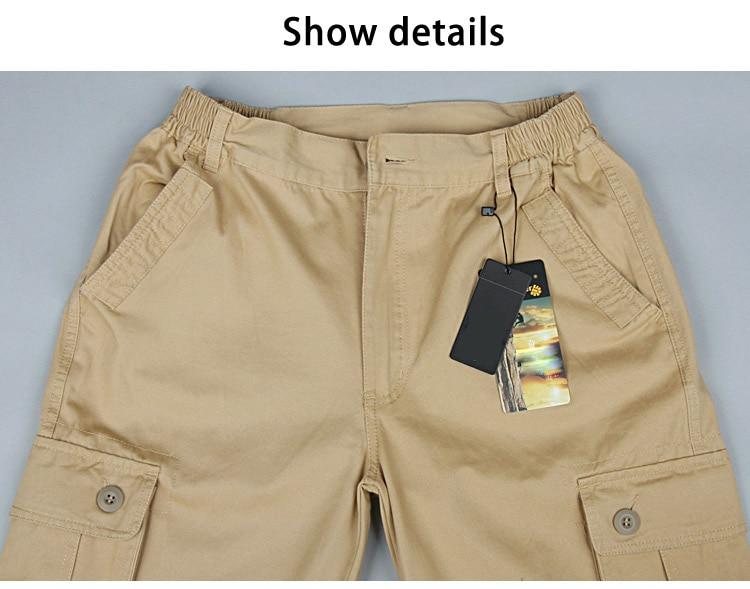 19 Spring Winter Military Pants Men Khaki Cargo trousers Casual Cotton Tactical Pants Men Big Size Army Overol Hombre 10