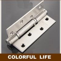 De alta qualidade  Silencioso dobradiça  Aço inoxidável 304 posicionamento  Nascentes de água buffer dobradiça  90 grau  Hardware