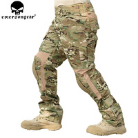 EMERSONGEAR Combat Pants with Knee Pads Military Airsoft Tactical Pants Paintball Shooting BDU Camo Pants EM6919