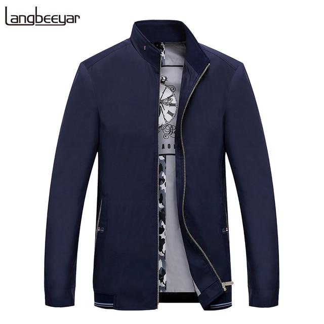 2019 Autumn New Fashion Coats And Jackets Mens Bomber Windbreaker Trend Street Style Overcoat Korean Casual Coat Mens Clothing