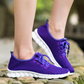 Breathable fashion Woman casual shoes 2016 new arrival mesh shoes