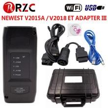 Новейший адаптер CAT ET3 III V2015A для CAT ET 3 Wifi USB версия для CAT3 грузовик диагностический инструмент с программным обеспечением Keygen