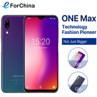 Umidigi One Max 4G RAM 128GB ROM 6.3Mobile Phone Helio P23 Octa Core Android 8.1 12MP+5MP Dual Cam Wireless Charge Cell Phone