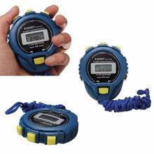 Important Bangle Bracelet LCD Chronograph Digital Timer Stopwatch Sport Counter Odometer Watch Alarm 16Nov30