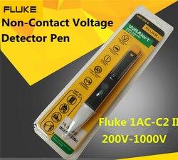 Free Shipping Fluke 1AC-C2 II 200V-1000V VoltAlert Non-Contact Voltage Detector Pen Tester 1 PCS