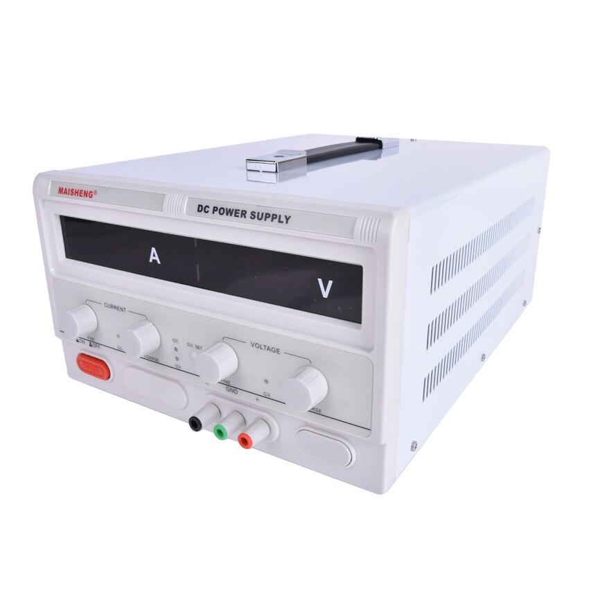 2KW Commutation DC Alimentation LED Affichage Numérique Réglable réglementé Laboratoire Régulateurs de Tension 0 ~ 200 v 0 ~ 10A