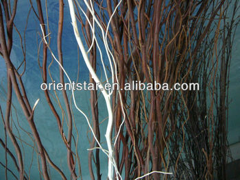 Wedding Holiday Christmas 120cm Height Nature Willow Dry Branch  nice idea for your sweet home decoration, various colors avalia